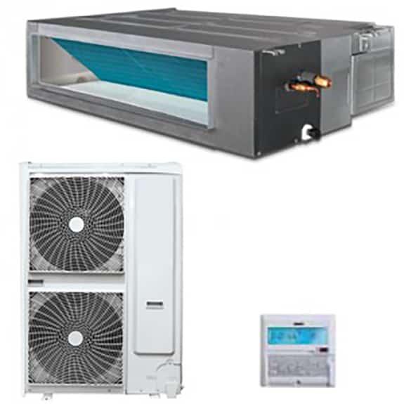 Climatizzatore canalizzato 48000 btu dc inverter a a - Clima canalizzato ...