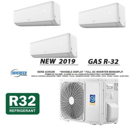 CLIMATIZZATORI TRIAL SPLIT DC INVERTER A++A+ GAS R-32 GAMMA 2019 PREDISPOSIZIONE WI-FI