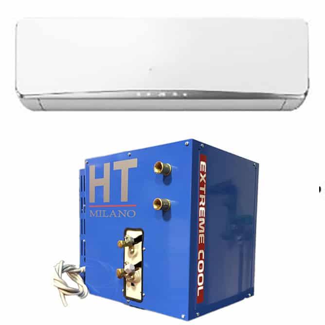 Climatizzatore monosplit dc inverter ad acqua 12000 btu a - Condizionatori ad acqua senza unita esterna ...