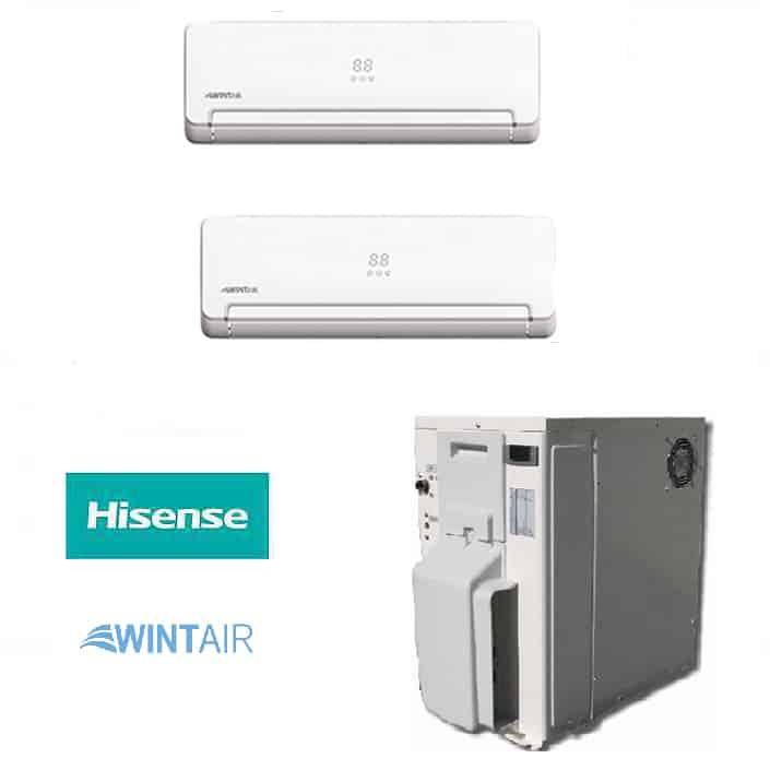Condizionatore Ad Acqua : Climatizzatore dual split dc inverter ad acqua eodis