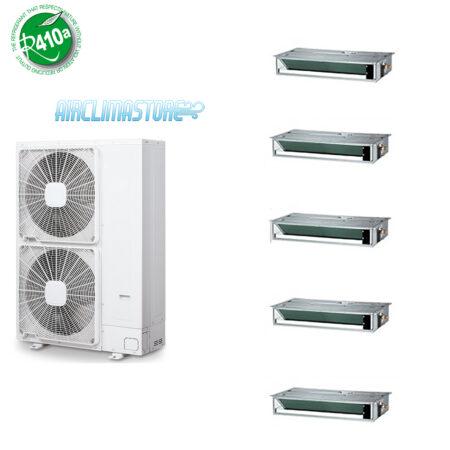 Climatizzatore penta canalizzato 12 12 12 9 9 dc inverter for Climatizzatore canalizzato