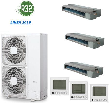 CLIMATIZZATORI TRIAL SPLIT CANALIZZATI DC INVERTER A++A+ GAMMA 2019 GAS R-32
