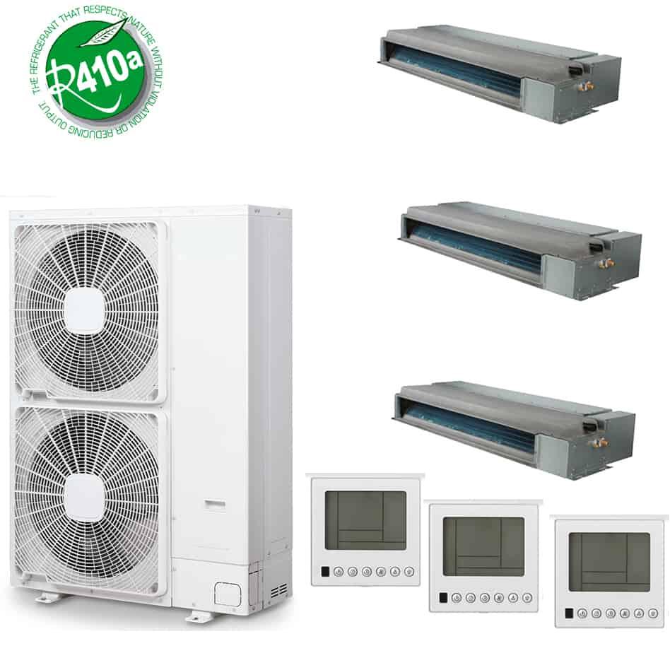 Climatizzatore trial canalizzato 24 18 7 dc inverter a for Climatizzatore canalizzato