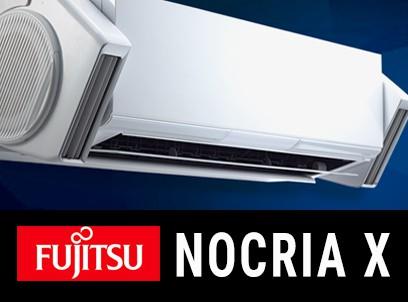 CLIMATIZZATORI MONO SPLIT FUJITSU A+++A+++ DC INVERTER SEER 8.5 SCOP 5.1 SERIE NOCRIA-X GAS R -32 WI-FI LINEA 2018