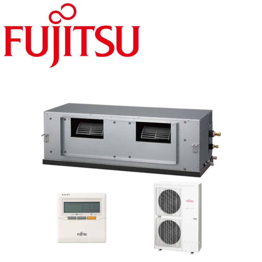 Climatizzatore canalizzato 54000 btu fujitsu ad alta for Climatizzatore canalizzato