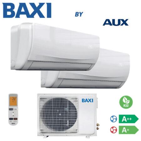 CLIMATIZZATORI DUAL DC INVERTER BAXI BY AUX A++A+ R-32 LINEA 2019 GARANZIA ITALIA 2 ANNI PREDISPOSIZIONE WI-FI