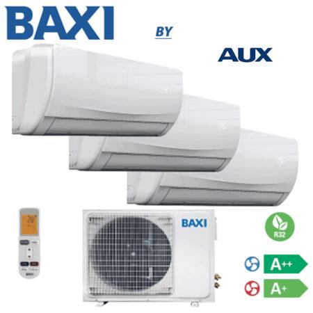 CLIMATIZZATORI TRIAL BAXI BY AUX R-32 DC INVERTER GAS A++A+ PREDISPOSIZIONE WI-FI