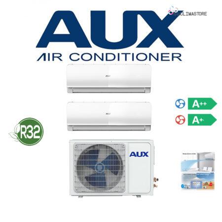 CLIMATIZZATORI DUAL AUX GAS R-32 FULL DC INVERTER A++A+ PREDISPOSIZIONE WI-FI LINEA 2019