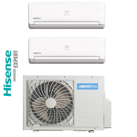 CLIMATIZZATORI DUAL SPLIT DC INVERTER HISENSE WINTAIR A++A+