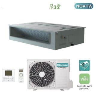 CLIMATIZZATORI HISENSE CANALIZZATI DC INVERTER GAS R-32 A++A+ WI-FI READY LINEA 2021
