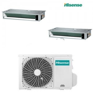 CLIMATIZZATORI DUAL CANALIZZATI HISENSE DC INVERTER A++A+ GAS R-32 WI FI READY