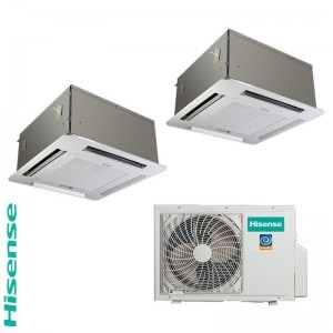 hisense-dual-split-cassetta-4-vie-1200012000-dc-inverter