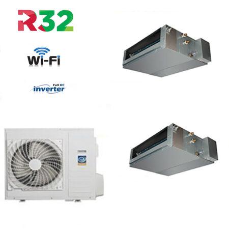 CLIMATIZZATORI DUAL SPLIT CANALIZZATI DC INVERTER GAS R-32 A++A+ LINEA 2020 WI-FI READY