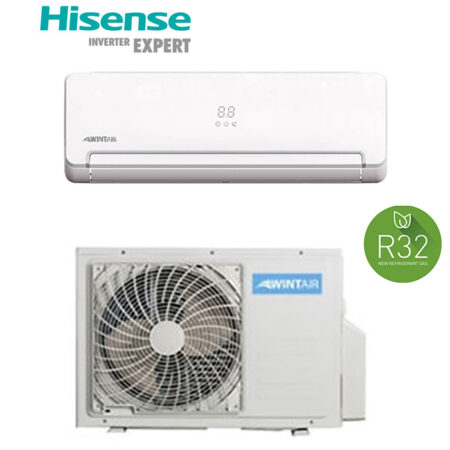 CLIMATIZZATORI MONO SPLIT HISENSE WINTAIR GAS R32 DC INVERTER A++A+ LINEA SMART 2019