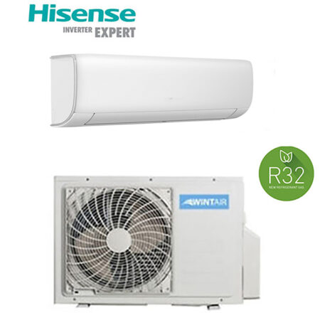 CLIMATIZZATORI MONO SPLIT HISENSE WINTAIR GAS R32 DC INVERTER A++A+ LINEA SMART 2021 WI-FI READY