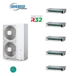 CLIMATIZZATORI PENTA CANALIZZATI DC INVERTER A++A+ LINEA 2021 GAS R-32 WI -FI READY