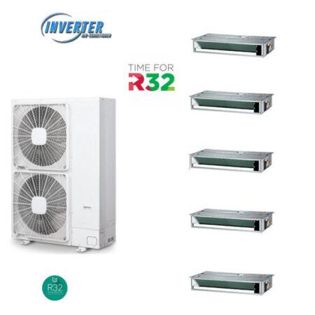 CLIMATIZZATORI PENTA CANALIZZATI DC INVERTER A++A+ LINEA 2020 GAS R-32 WI -FI READY