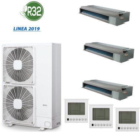 CLIMATIZZATORI TRIAL SPLIT CANALIZZATI DC INVERTER A++A+ GAMMA 2020 GAS R-32