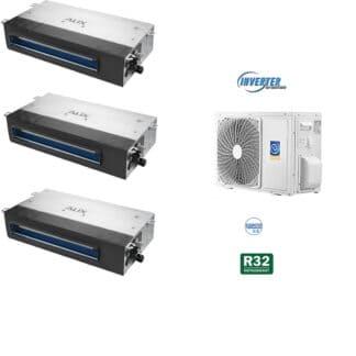 CLIMATIZZATORI TRIAL SPLIT CANALIZZATI DC INVERTER A++A+ GAMMA 2021 GAS R-32 WI-FI READY