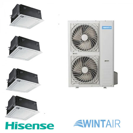 CLIMATIZZATORE HISENSE WINTAIR QUADRI CASSETTA copia