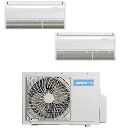 CLIMATIZZATORI DUAL PAVIMENTO SOFFITTO HISENSE WINTAIR DC INVERTER A++A+ GAS R-32