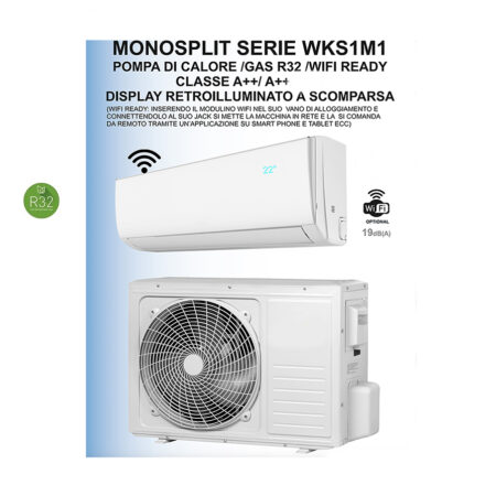 CLIMATIZZATORI MONO SERIE LEGEND GAS R-32 INVISIBLE DISPLAY FULL DC INVERTER A++A++ LINEA 2021 PREDISPOSIZIONE WI-FI