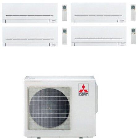 CLIMATIZZATORI QUADRI SPLIT MITSUBISHI SERIE AP DC INVERTER GAS R-32 LINEA 2019