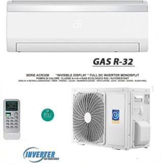 CLIMATIZZATORI MONO SPLIT SERIE ACR INVISIBLE DISPLAY FULL DC INVERTER A++A++ GAS R-32 LINEA 2021