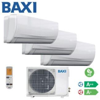 CLIMATIZZATORI TRIAL BAXI R-32 DC INVERTER GAS A++A+ PREDISPOSIZIONE WI-FI