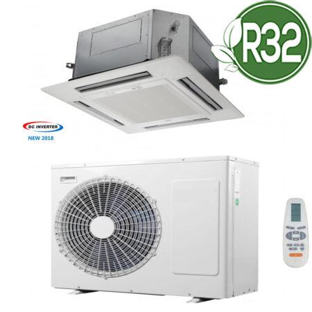 CLIMATIZZATORI CASSETTA GAS-R32 A++A+ DC INVERTER LINEA 2019