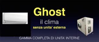CLIMATIZZATORI SENZA UNITA' ESTERNA AD ARIA DC INVERTER
