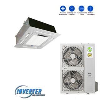 CLIMATIZZATORI CASSETTA DC INVERTER GAS R-410A DC INVERTER A++A++