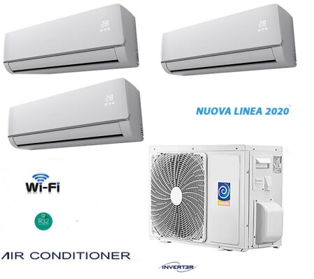 CLIMATIZZATORI TRIAL SPLIT A++A++ GAS R-32 FULL DC INVERTER LINEA 2020 WI-FI READY