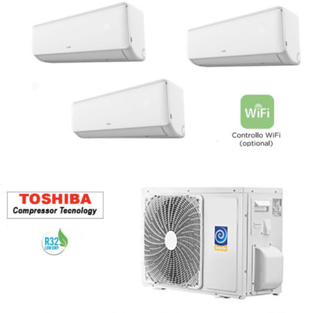 CLIMATIZZATORI TRIAL SPLIT A++A++ GAS R-32 FULL DC INVERTER LINEA 2021 WI-FI READY