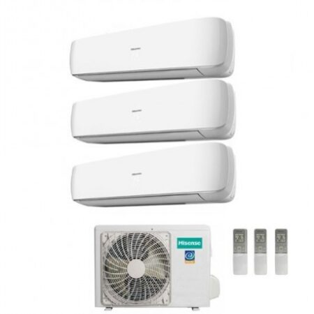 CLIMATIZZATORI HISENSE TRIAL MINI APPLE PIE GAS R-32 DC INVERTER A++A+ WI-FI READY