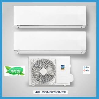CLIMATIZZATORI DUAL SPLIT DC INVERTER GAS R-410A A++A++ WI-FI READY