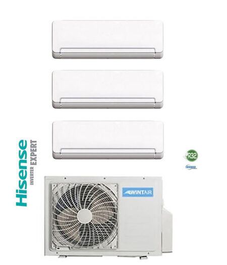 CLIMATIZZATORI TRIAL SPLIT HISENSE WINTAIR GAS R-32 DC INVERTER A++A+ WI-FY READY LINEA 2021