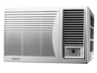 CLIMATIZZATORI MONOBLOCCO INCASSO FINESTR GAS R-32 DC INVERTER POMPA DI CALORE