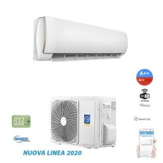 CLIMATIZZATORI MONO SPLIT Full DC Inverter A++A++ GAS R-32 WI-FI INCLUSO CON APPLICAZIONE SMART LIFE