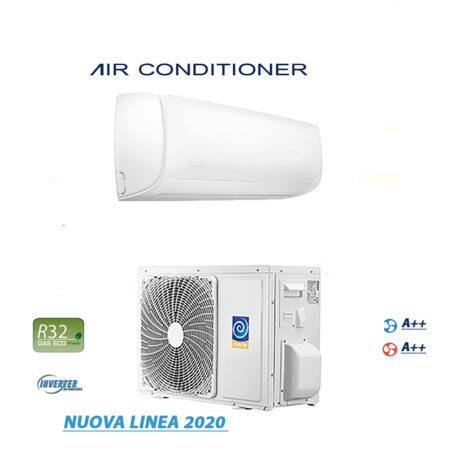 CLIMATIZZATORI MONO SPLIT GAS R-32 INVISIBLE DISPLAY FULL DC INVERTER A++A++ LINEA 2020 PREDISPOSIZIONE WI-FI READY