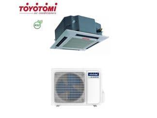CLIMATIZZATORI CASSETTA TOYOTOMI R32 DC INVERTER LINEA 2020