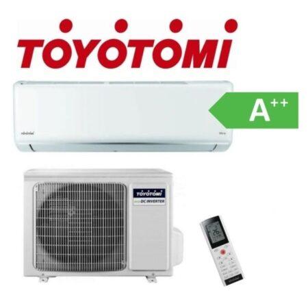 CLIMATIZZATORE MONO TOYOTOMI GAS R-32 A++A+++ DC INVERTER LINEA 2020