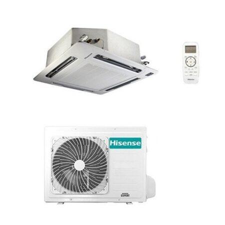 climatizzatore-condizionatore-hisense-a-cassetta-inverter-modello-auc125ur4-da-42000-btu-con-gas-r32-inclusa-griglia-trifase