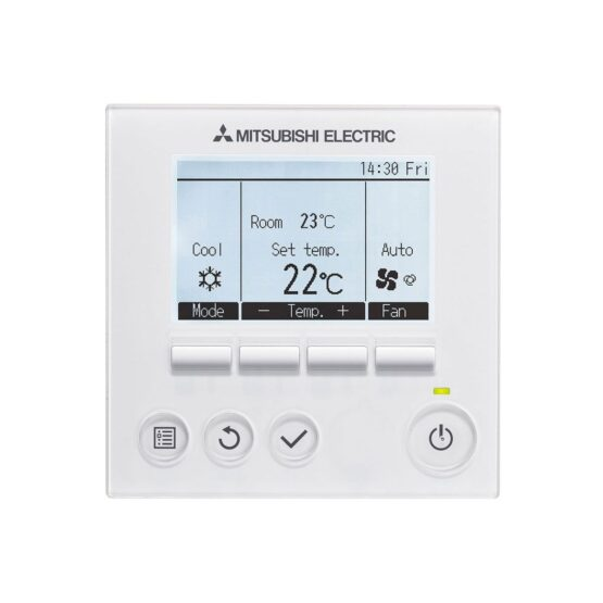 hard-wired-mitsubishi-electric-air-conditioning-par31maa-par-31maa-controller-4490-p