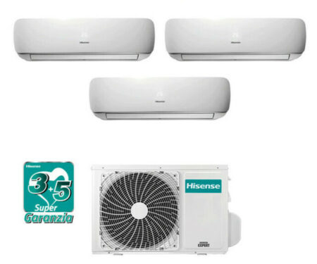 CLIMATIZZATORI HISENSE TRIAL SPLIT APPLE PIE GAS R32 A++A+ WI FI READY