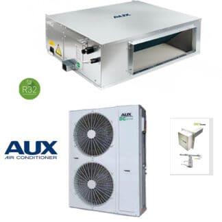 CLIMATIZZATORI CANALIZZATI AUX R32 DC INVERTER A++A+ CON Dispositivo per la Sanitizzazione dei canali di condizionamento per Ambienti e Superfici