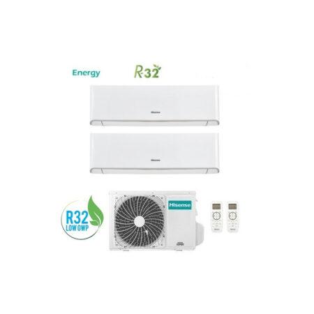 CLIMATIZZATORI DUAL HISENSE ENERGY R32 DC INVERTER A++A+