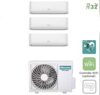 CLIMATIZZATORI TRIAL SPLIT HISENSE DC INVERTER R32 A++A+ WI FI READY
