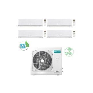 CLIMATIZZATORI QUADRI SPLIT HISENSE ENERGY A++A+ R32 DC INVERTER WI-FI