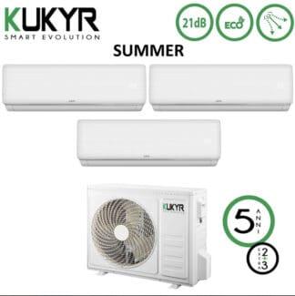 CLIMATIZZATORI TRIAL SPLIT KUKYR A++A+ DC INVERTER R-32